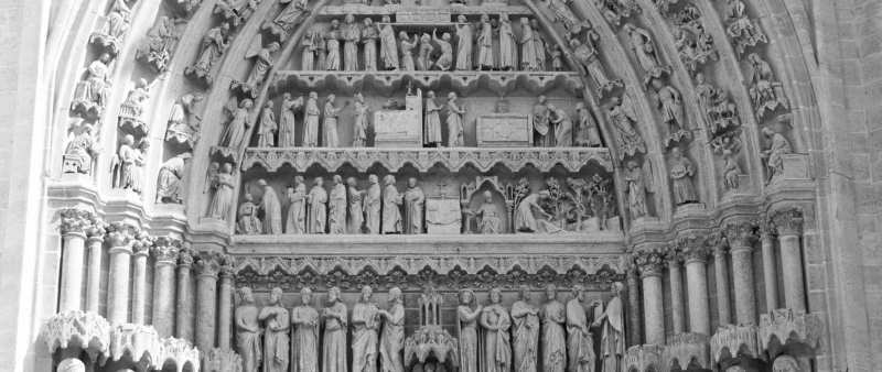 Cathedral-detail-BW