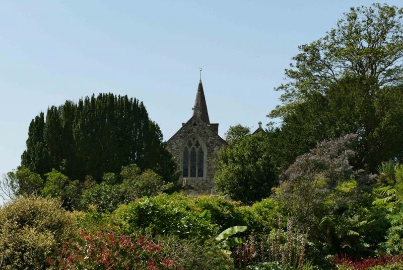 Mottestone-Church-Spire